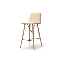 Spine Wood Base Barstool