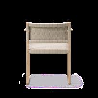 BM62 Armchair Linen Webbing