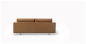 Risom 65 Sofa 2 seater Metal Base - Model 6562 Image