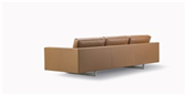 Risom 65 Sofa 3 seater Metal Base - Model 6563 Image