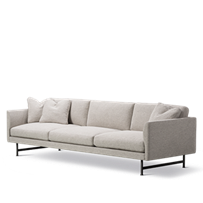 Calmo 3 Seater 80 Metal Base