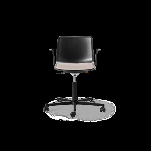 Pato Veneer Office Armchair