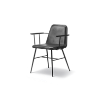 Spine Metal Base Armchair