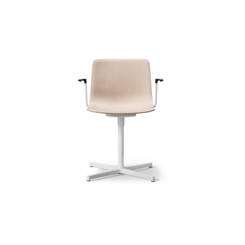 Pato Veneer Swivel Armchair