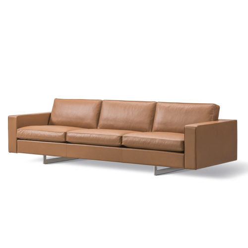 Risom 65 Sofa 3 seater Metal Base