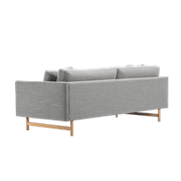 Calmo 2 Seater 95 Wood Base