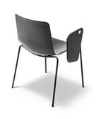 Pato 4 Leg Chair with writingtable - Model 4205