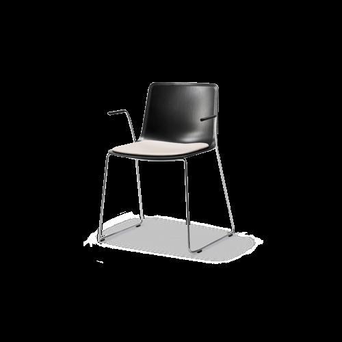 Pato Veneer Sledge Armchair