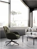 Swoon Lounge Petit Swivel base - Model 1779 Image