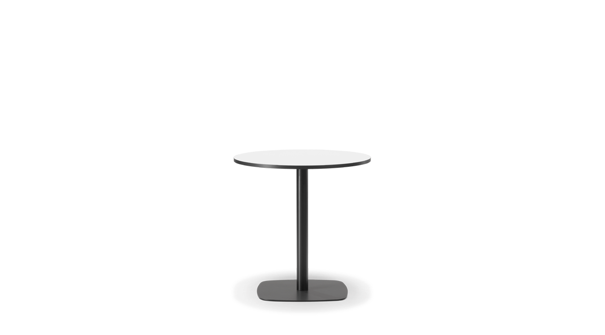 Cafe table and chairs png -  Ideal Table To Pair With A Variety Of Chair Styles Constructed In Laminate And Steel The Column Base Is Available In Both Cafe And Standing Heights