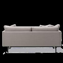 Calmo 2 Seater 80 Metal Base