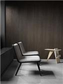 Spine Lounge Wood Base