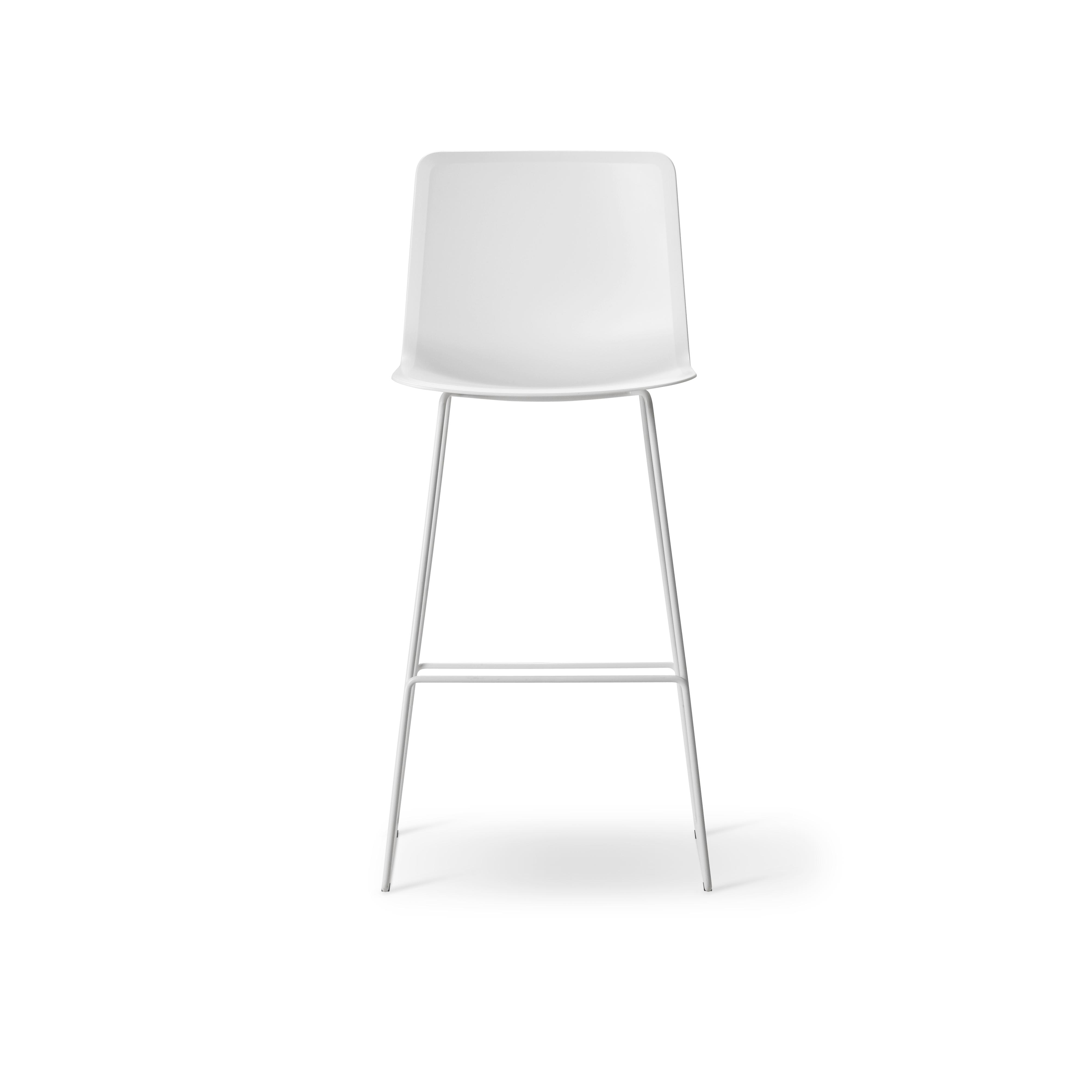 Marvelous Pato Sledge Barstool Inzonedesignstudio Interior Chair Design Inzonedesignstudiocom