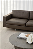 Risom 65 Sofa 3 seater Metal Base Image