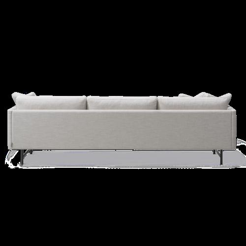 Calmo 3 Seater 80 Metal Base
