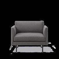 Calmo Lounge Chair 80 Metal Base