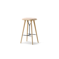 Spine Wood Base Stool